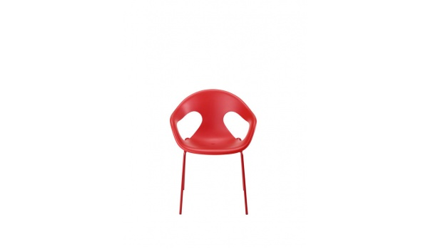 chaise__coque_moderne_si-nyson_rouge